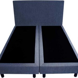Bedworld Boxspring 120x220 - Seudine - Blauw (ONC80)