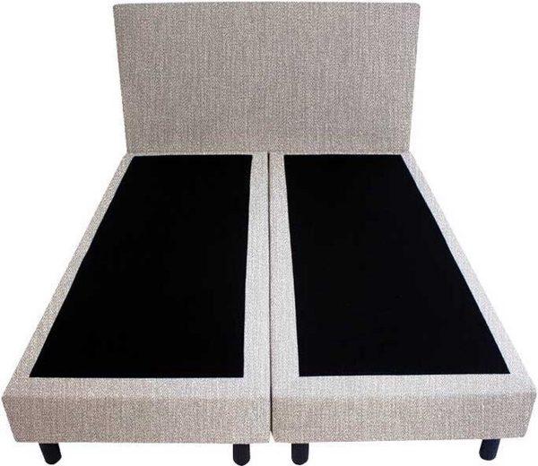 Bedworld Boxspring 120x220 - Seudine - Licht grijs (ONC90)