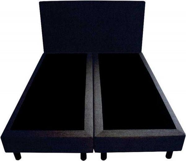 Bedworld Boxspring 120x220 - Velours - Donker blauw (ML79)