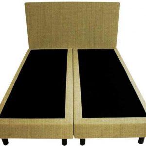 Bedworld Boxspring 120x220 - Waterafstotend fijn - Olijfgroen (MV33)