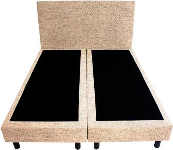 Bedworld Boxspring 120x220 - Waterafstotend grof - Beige (P05)