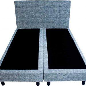 Bedworld Boxspring 120x220 - Waterafstotend grof - Licht blauw (P73)