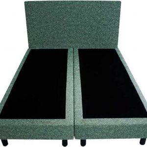 Bedworld Boxspring 120x220 - Wol look - Groen (WL75)