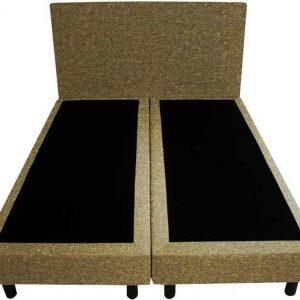 Bedworld Boxspring 120x220 - Wol look - Olijfgroen (WL45)