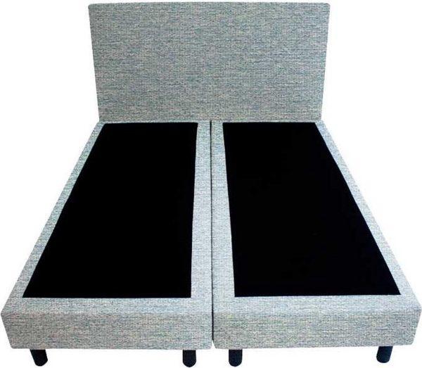 Bedworld Boxspring 140x200 - Geveerd - Waterafstotend grof - Mint (P72)