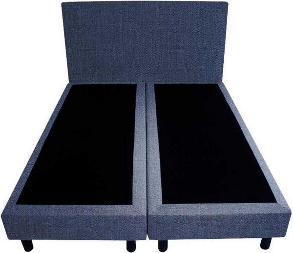 Bedworld Boxspring 140x220 - Seudine - Blauw (ONC80)