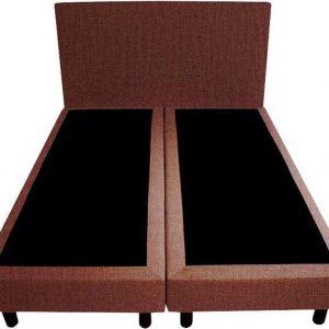 Bedworld Boxspring 140x220 - Velours - Oud roze (ML63)