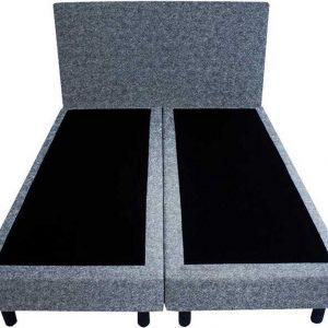 Bedworld Boxspring 140x220 - Wol look - Blauw (WL74)