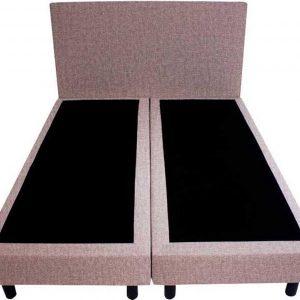 Bedworld Boxspring 160x200 - Velours - Lila (ML62)
