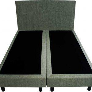 Bedworld Boxspring 160x220 - Seudine - Olijfgroen (ONC37)