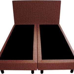 Bedworld Boxspring 160x220 - Velours - Oud roze (ML63)