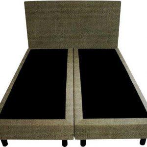 Bedworld Boxspring 180x220 - Waterafstotend fijn - Donker groen (MV39)