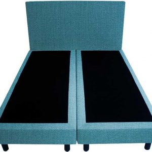 Bedworld Boxspring 200x200 - Seudine - Turquoise (ONC85)