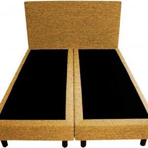 Bedworld Boxspring 200x220 - Waterafstotend grof - Okergeel (P48)
