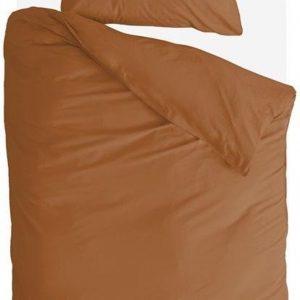 Byrklund Dekbedovertrek Sleep Softly - 140x220 - 100% Katoen - Cognac