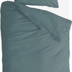 Byrklund Dekbedovertrek Sleep Softly - 140x220 - 100% Katoen - Groen