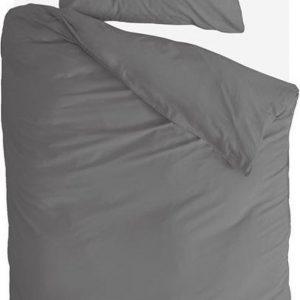 Byrklund Dekbedovertrek Sleep Softly - 140x220 - 100% Katoen - Off Black