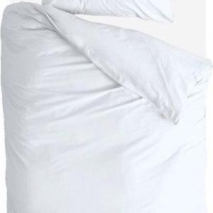 Byrklund Dekbedovertrek Sleep Softly - 140x220 - 100% Katoen - Wit