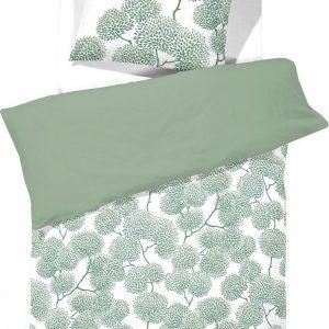 Cinderella Dekbedovertrekset katoen 140 x 200/220 cm branche green