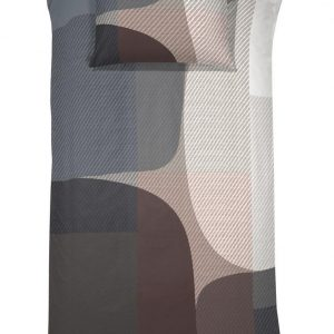 Damai Dekbedovertrekset satijn 140 x 200/220 cm Moore basalt