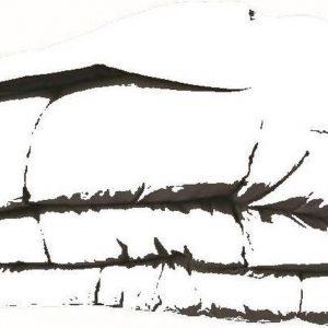 Dekbed in vlakken doorgestikt- 240x220 - Lichtblauw / Azuur