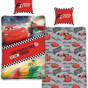 Disney Cars - dekbedovertrek - eenpersoons - 140 x 200 - Rood