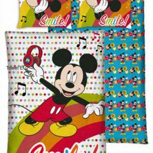 Disney dekbedovertrek Mickey 140 x 200 cm
