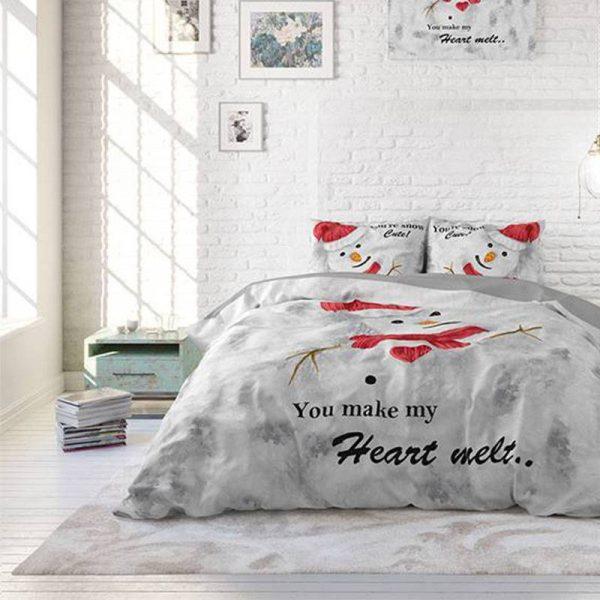 DreamHouse Bedding You Make My Heart Melt 1-persoons (140 x 200/220 cm + 1 kussensloop) Dekbedovertrek