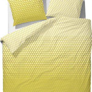 Esprit Mina Dekbedovertrek - 140x220+60x70 - Mustard