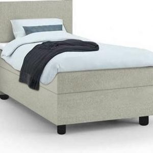 Haluta - Complete 1-persoons Boxspring - 80 x 200 cm - Lente Groen - Inclusief Topper