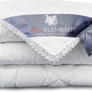Heckett & Lane Platinum - Dons - Dekbed - Lits-jumeaux - 240x220 cm - Wit