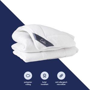 Lindabed Premium Hotel | 4-Seizoenen Dekbed 140 x 200 | Anti-Allergie Microvezel