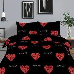 Love Red - Dekbedovertrek - 140x220