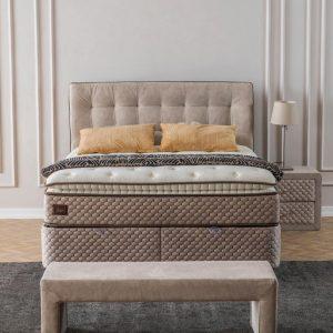 Maison Interiors - Monte Carlo Premium Opbergboxspring - 140x200