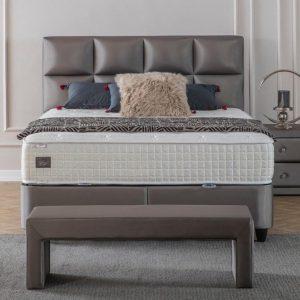 Maison Interiors - Toulon Premium Opbergboxspring - 140x200