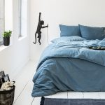Manilla Stone Washed - Blauw 1-persoons (140 x 200/220 cm + 1 kussensloop)