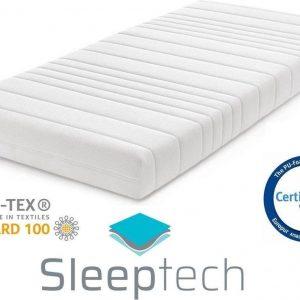 Matras Pocketvering 7-zones 90x200 dikte c.a. 20cm SleepTech