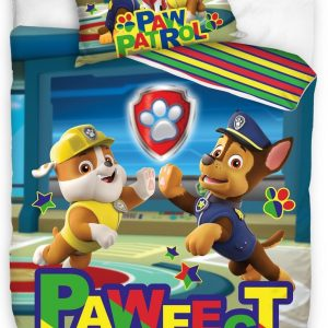 Nickelodeon Dekbedovertrek Paw Patrol 140 X 200 Cm/90 Cm Blauw