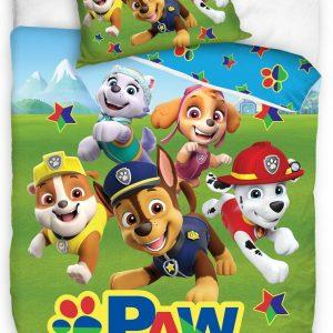 Nickelodeon Dekbedovertrek Paw Patrol 140 X 200 Cm/90 Cm Groen