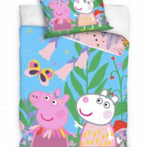 Nickelodeon dekbedovertrek Peppa Pig 140 x 200 cm