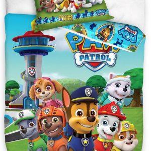 PAW Patrol Dekbedovertrek Calling All Pups - Eenpersoons - 140 x 200 cm - Katoen