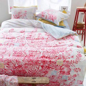 Pip Studio Living Tiles Dekbedovertrek - 140x220+60x70 - Red