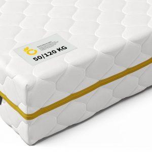 Pocketvering Matras tot 120 kg 160 x 200 cm - 7 Comfort Zones & Cocomat