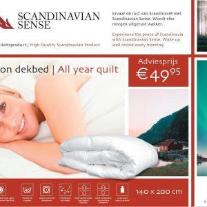 Scandinavian Sense All Season Dekbed - 140 x 200 cm