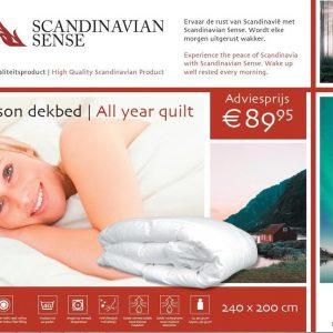Scandinavian Sense All Season Dekbed - 240 x 200 cm