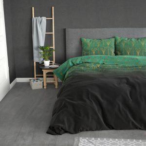 Sleeptime Elegance Owen Green 1-persoons (140 x 200/220 cm + 1 kussensloop) Dekbedovertrek