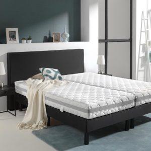 Sleeptime Full 3D Infinity Nasa - Pocket Matras - 90x200 - Wit