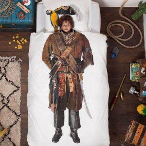Snurk Piraat dekbedovertrek 140x220