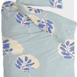 Walra Dekbedovertrek Remade Romantic Leaves - 140x220 - 100% katoen - Blauw
