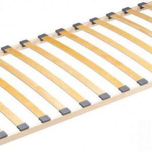 Bedbodem met 13 latten 90x200 cm in massief hout natuurkleur